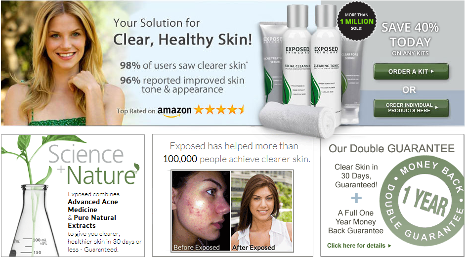 Exposed Skin Care Coupon Code 2016 – Guaranteed Max discount Today!